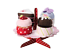 IKEA Grattis 5-piece Soft Serving Stand With Cupcakes Set Kids Kitchen Toy Play