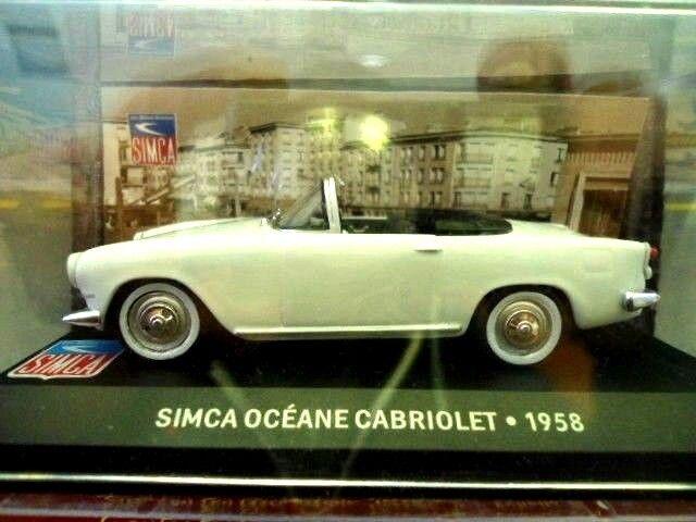 SIMCA OCEANE CABRIOLET 1958 ALTAYA - IXO 1/43 NEUF