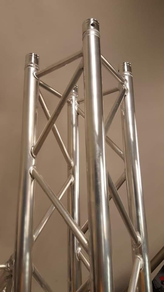 F34 Truss 2M (6.56 ft) Square Trussing Segment SQ-4112 fits Global Truss