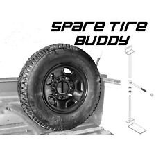 Pick Up Truck Spare Mount-With Padlock-Secure Spare Tire Buddy -