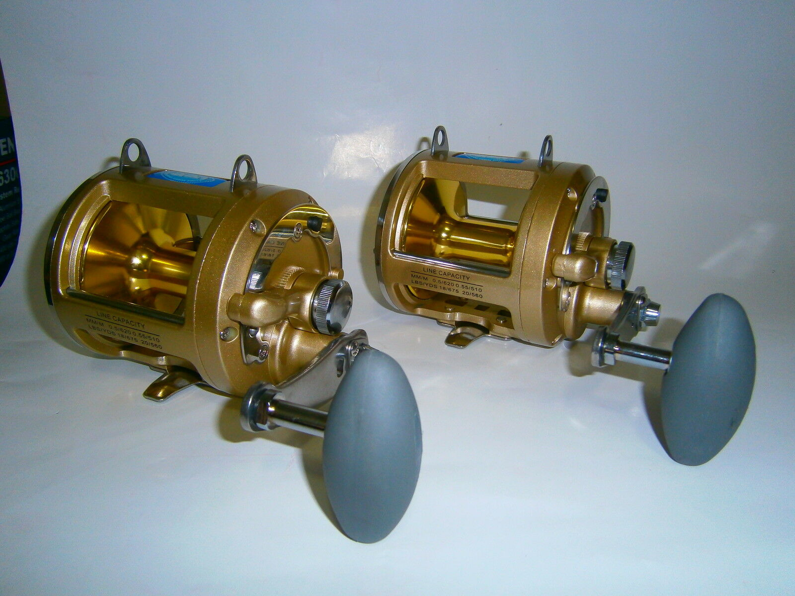 2 X LD10000 (VI) BIG GAME REEL Model up from LD9000 with NEW BONUS REEL BAG