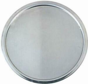 Details About Pizza Pan Tray Oven Plate Aluminum Non Stick Wide Rim 14 Inch Service Serving