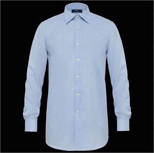 Camicia-classica-uomo-business-Ingram-celeste-Cotone-No-Stiro-taglia-50-4XL