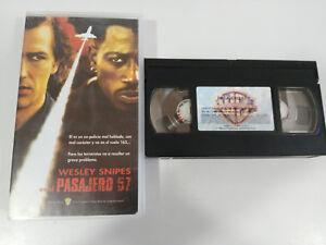 PASSAGER-57-WESLEY-SNIPES-VHS-FILM-BANDE-COLLECTOR-CASTILLAN