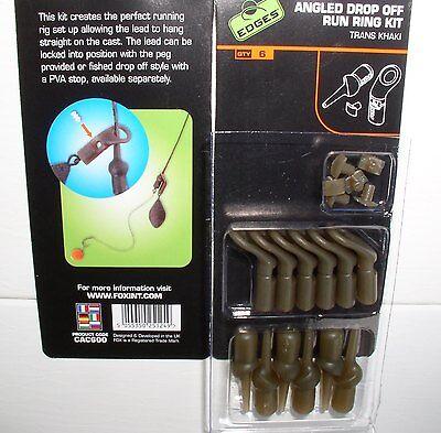 Fox Run Ring Kit 6 freilaufende Montagen nicht nur für Boilie-Angler CAC600