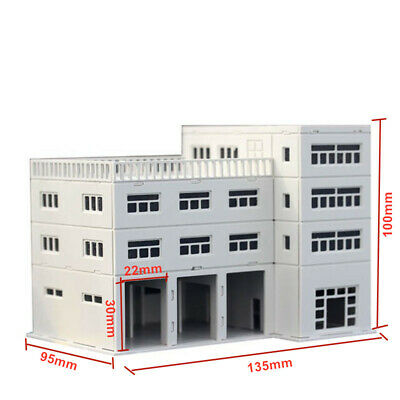 Details about  /Outland Models Railway Scenery 4-Story Car Parking Building 1:220 Z Scale