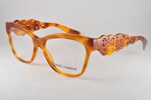 b5f0dbde121 Image is loading Dolce-amp-Gabbana-Eyeglasses-DG-3236-512-Blonde-