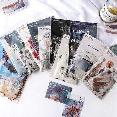 40Pcs Heart series Sticker Creative Journal Diary Album Decoration Stickers hot