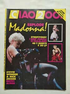 RARE-CIAO-2001-N-37-1987-MADOONA-DEEP-PURPLE-STEVIE-WONDER-MICK-JAGGER