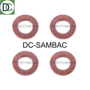 Diesel-Injector-Washers-Seals-for-Nissan-X-Trail-2-2-Pack-of-4