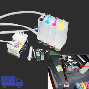 Non-OEM-CISS-Ink-System-for-Epson-C88-CX3800-C88-Empty-for-Sublimation-Ink-Use