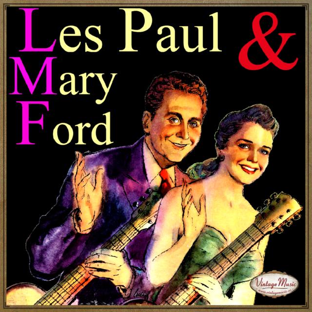 LES PAUL & MARY FORD CD Vintage / Bye Bye Blues , Vaya Con Dios White Christmas