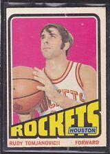 1972 -73 - RUDY TOMJANOVICH - Topps Basketball Card # 103 - Houston Rockets