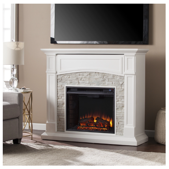Electric Fireplace Grand Heights Faux