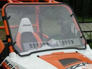 9831 SKU Polaris RZR Half Windshield Hard Coated-both sides Wind Deflector