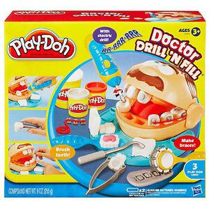 play doh doctor drill 39 n fill playdoh dr dentist set. Black Bedroom Furniture Sets. Home Design Ideas