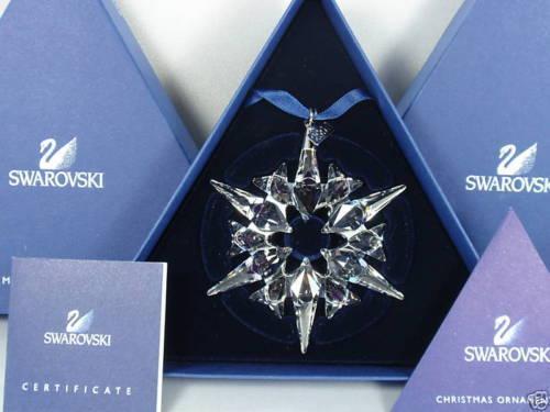Swarovski weihnachtsstern Christmas ornament 2007 nuevo 872200