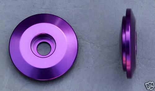 Kronos Aluminum 1-1//8 Extralite Top Cap 9 grm Purple