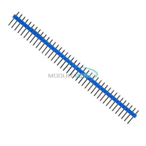 10PCS-40Pin-1x40P-Male-2-54mm-Breakable-Pin-Header-Strip-40P-Blue-Color-M