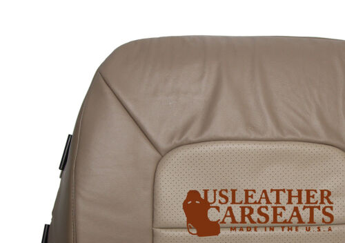 2003-2006 Ford Expedition Eddie Bauer Passenger Bottom Leather Seat Cover Tan