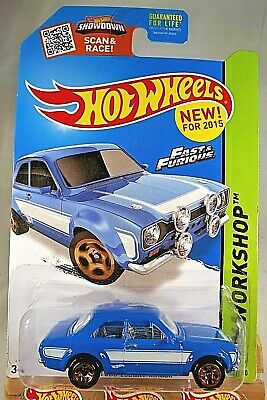 Hot Wheels /'70 Ford Escort RS1600 HW Workshop Blue
