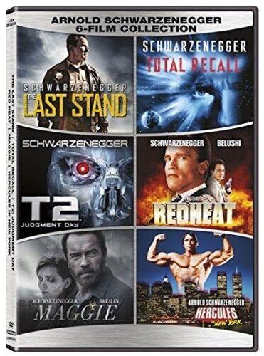 Arnold Schwarzenegger: 6-film Collection [New DVD] 2 Pack