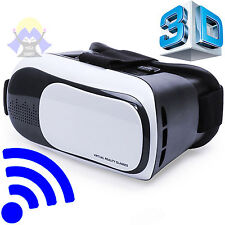VR Occhiali 3D Realta' Virtuale VISORE Glasses CELLULARE Per IPHONE x Android TV
