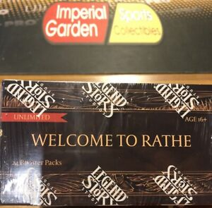 FLESH AND BLOOD WELCOME TO RATHE UNLIMITED BOOSTER BOX FAB SEALED  24 PACKS
