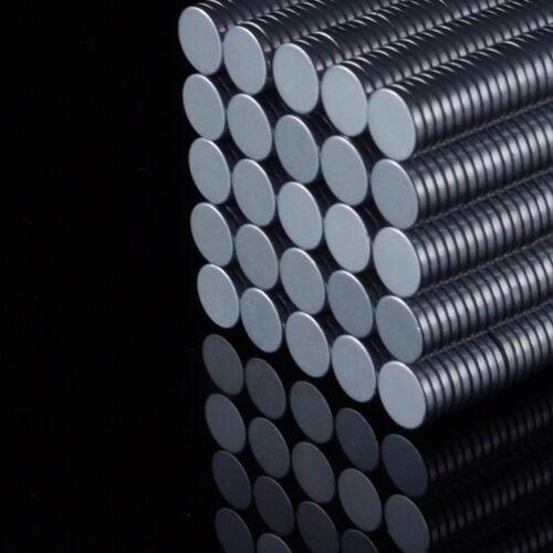 5x Neodym Scheiben Magnete Ø6 x 1 mm N52 350g Haftkraft NdFeB D6x1 mm rund