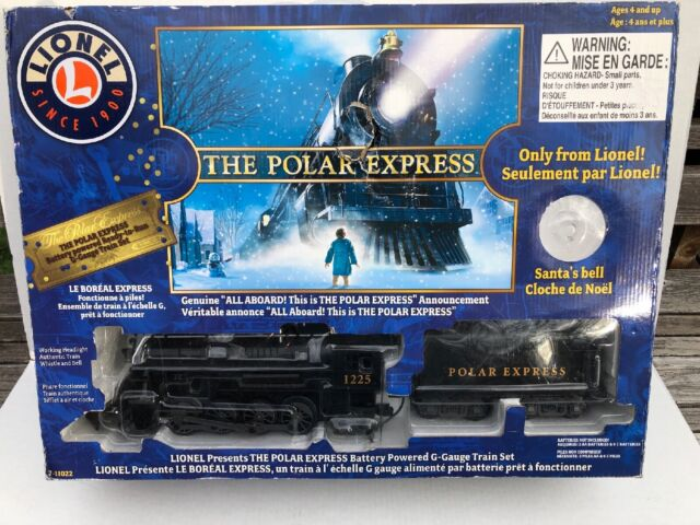 Lionel Polar Express Train Set G Gauge 711022 Christmas Train