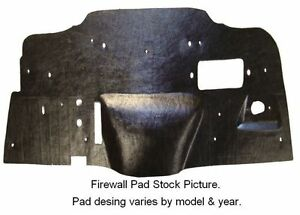 1973-1979 FORD PICK UP FIREWALL PAD WITH A//C NEW!