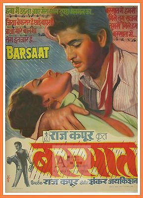 Barsaat 2 Bollywood Movie Posters Vintage Classic & Indian Films | eBay