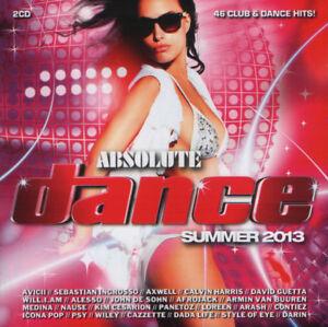 Various-Artists-034-Absolute-Dance-Summer-2013-034-Double-CD-Album