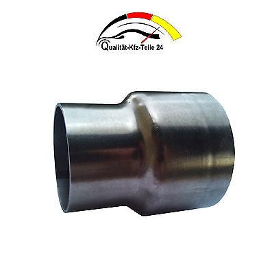 Edelstahl Auspuffreduzierung Reduzierung Abgasanlage 76,1mm auf 70,0mm