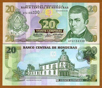 HONDURAS Banknote 5 Lempiras 2004 UNC