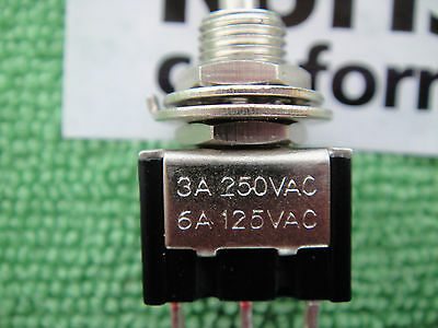 1pcs Latching+Momentary On-Off-(On) Toggle Switch,B113 ay