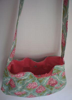 Handtasche genäht Unikat Handarbeit aus beschichteter Baumwolle