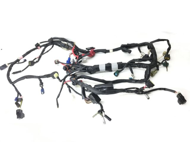 2009 yamaha yzf r6 team yamaha main engine wiring harness
