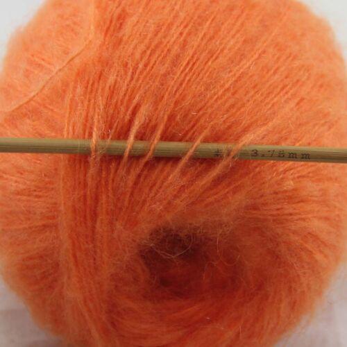 32Colors 1BallX50g Fluffy Soft Mohair Lace Crochet Shawl Hand Knitting DIY Yarn