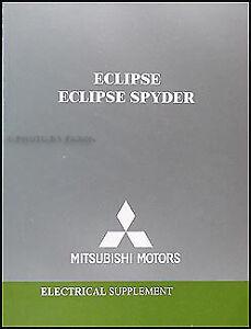 2004 Mitsubishi Eclipse Wiring Diagram Manual Electrical ...