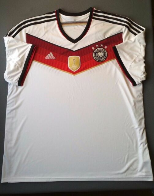 858af186c Germany jersey 2014 world cup SHIRT ADIDAS official product M35022 size 3XL  5+/5