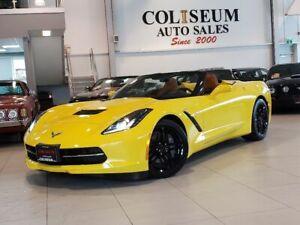 2016 Chevrolet Corvette STINGRAY CONVERTIBLE-2LT-AUTOMATIC-NAVI-HUD-LOADED