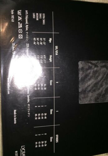 18263 Wild Wolford Amazone 10 Calze Nero Colore Extra Misura small A8RqwgWdRT