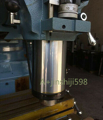 Bridgeport Milling Machine B142+133 R8 Spindle Quill Sleeve Vertical Mill Tool