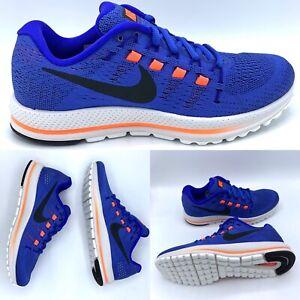 Desafortunadamente Despido Consejos  Nike Air Zoom Vomero 12 para hombres zapatos para correr (863762-400) Azul  Naranja Tamaño 7 | eBay