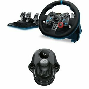 Logitech-G29-Volante-para-simulacion-de-carreras-compatible-con-PS4-PS3-y-PC