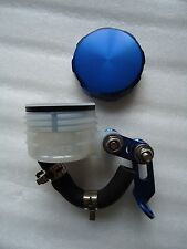 Blue Anodised Brake Reservoir pot Streetfighter Cafe racer Project GSXR1100 Gsxr