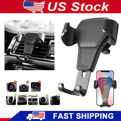 Universal Gravity Car Air Vent Mount Cradle Holder Stand Mobile Cell Phone GPS
