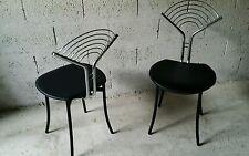 Fauteuil chaise vintage années 70 80 - design italien sottsass Memphis