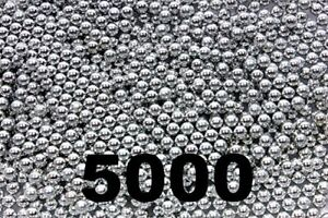 5000-ct-Silver-Zinc-Plated-Metal-BBS-4-5mm-177-Cal
